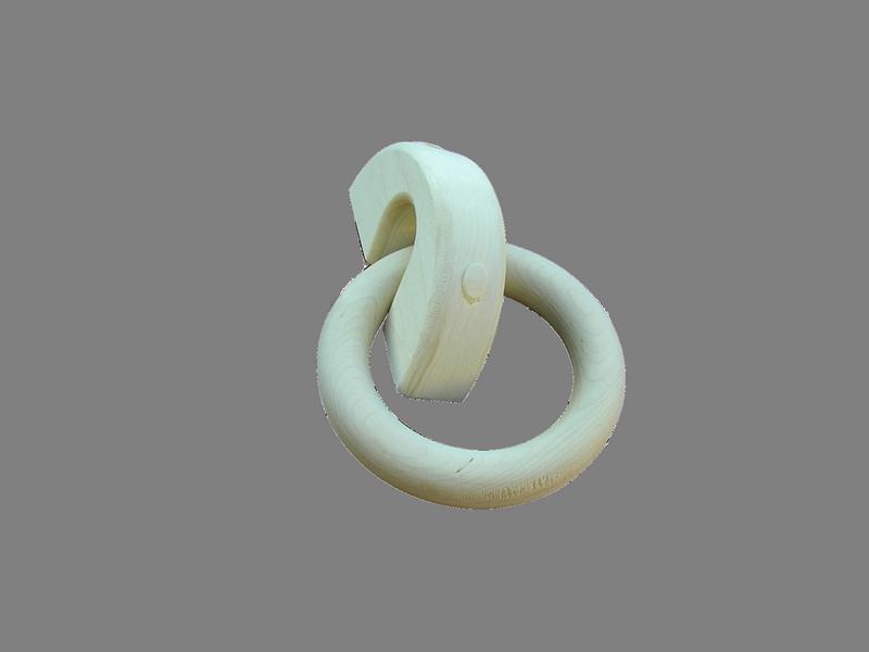 Кольцо на скобе